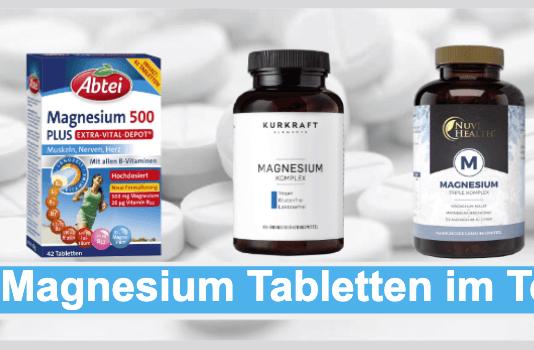 Magnesium Tabletten Titelbild