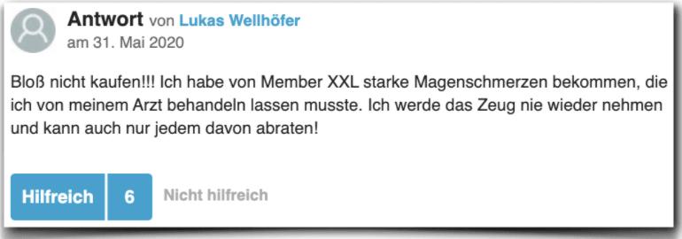 Member XXL Erfahrung Erfahrungen Erfahrungsbericht