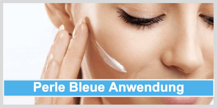 Perle Bleue Anwendung