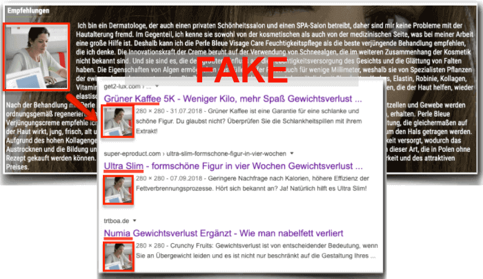 Perle Bleue Fake Expertenbericht