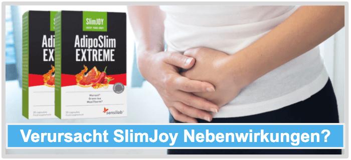 Slimjoy Nebenwirkungen Risiken Unverträglichkeiten