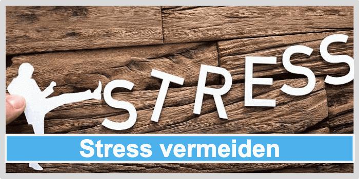 Stoffwechsel anregen Stress vermeiden