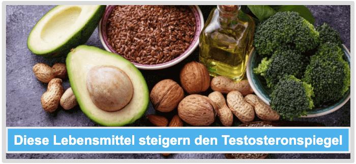 Testosteronspiegel steigern Lebensmittel