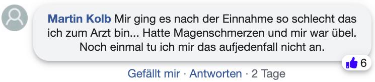 Viarax Erfahrungsberichte Kritik facebook