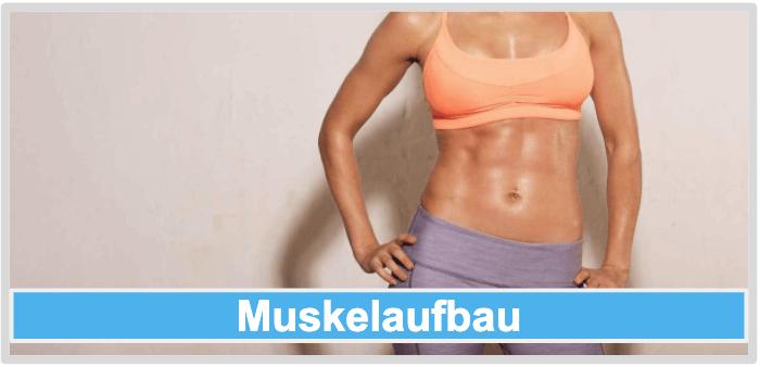 Vibrationsplatte Muskelaufbau