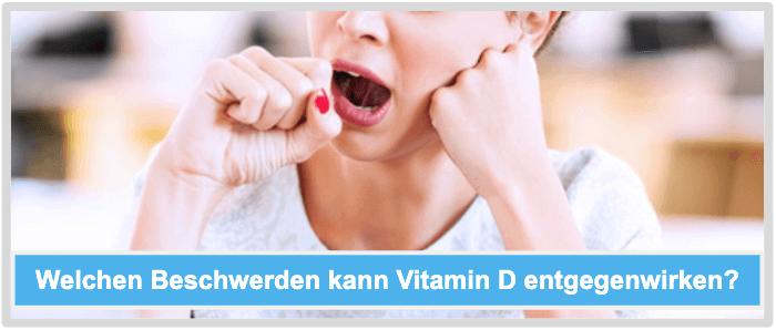 Vitamin D Beschwerden