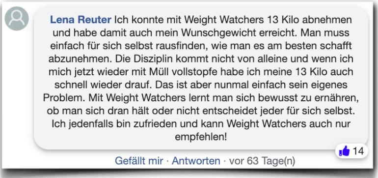 Weight Watchers Erfahrungen Erfahrung
