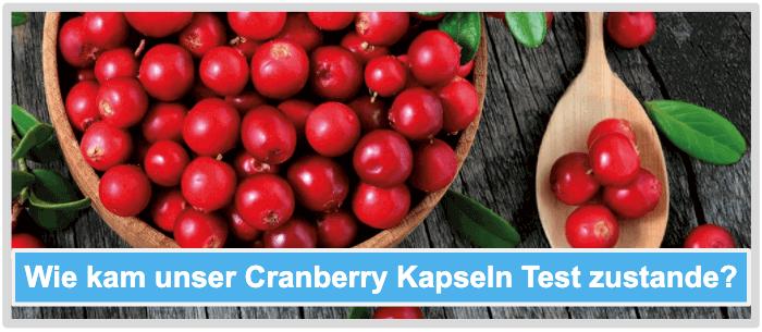 Cranberry Kapseln Test