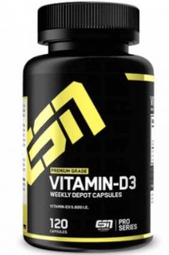 ESN Vitamin D3 Tabelle