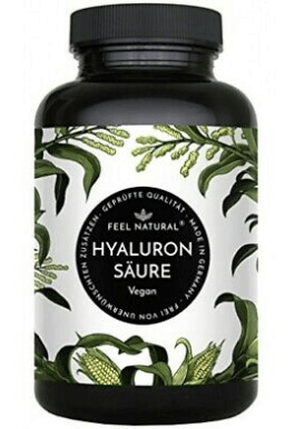 Feel Natural Hyaluronsäure Tabelle