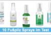 Fußpilz Spray Titelbild