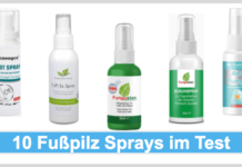 Fußpilz Spray Titelbild