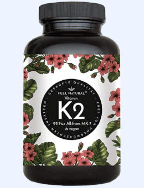 Natural elements Vitamin k Tabelle