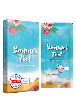 Summer Foot Fussmaske Abbild Tabelle