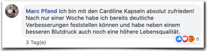 Cardiline Erfahrungsbericht Bewertung Kritik Erfahrungen
