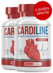 Cardiline Tabelle Abbild