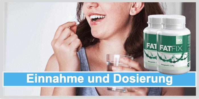 Fatfix Einnahme Dosierung Anwendung