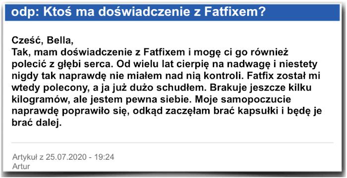 Fatfix Sprawozdanie w terenie Ocena Krytyka Fatfix