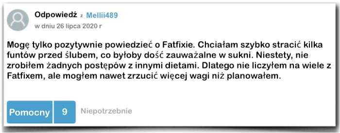 Fatfix sprawozdanie