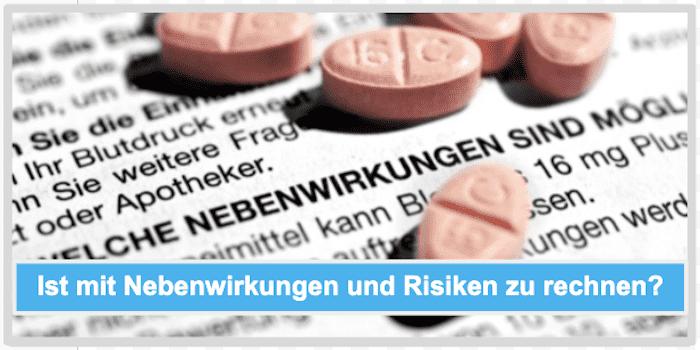 Ist mit Nebenwirkungen und Risiken zu rechnen Cardiline