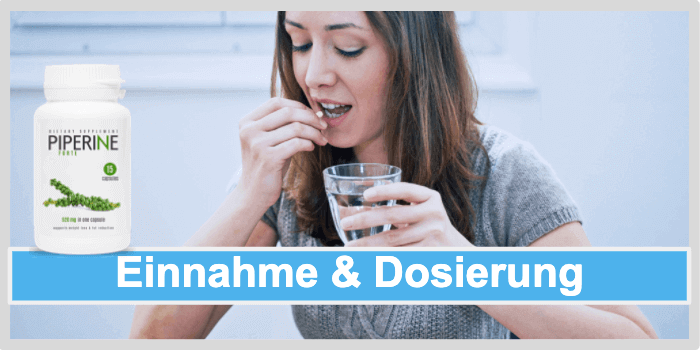 Piperine Forte Ingestion and dosage