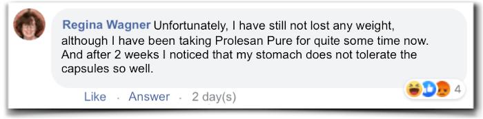 Prolesan Pure Evaluation Criticism Experiences
