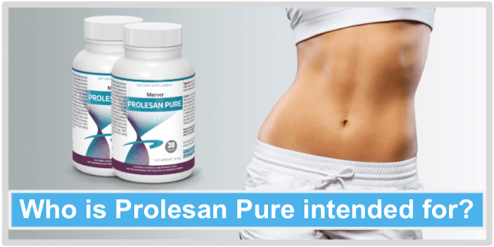 Who is Prolesan Pure intended for