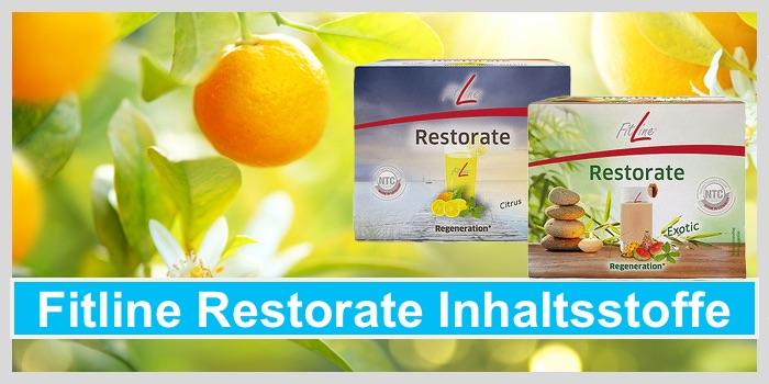 Fitline Restorate Inhaltsstoffe Citrus Exotic