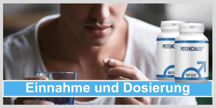 Potencialex Einnahme Anwendung Dosierung