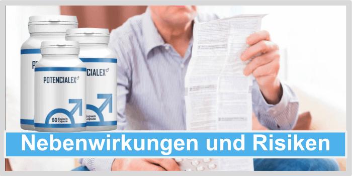 Potencialex Nebenwirkungen Unverträglichkeiten Risiken