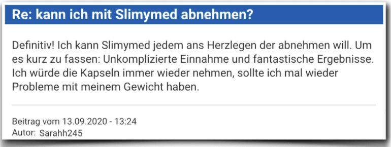 Slimymed Erfahrungsbericht Bewertung Kritik Slimymed