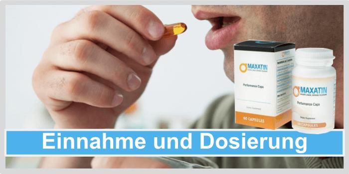 Maxatin Einnahme Dosierung