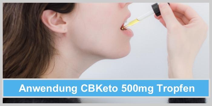 cbketo 500mg tropfen einnahme dosierung anwendung