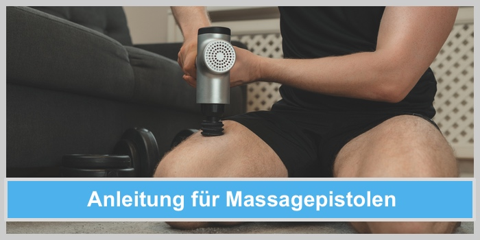 massagepistole anleitung anwendung