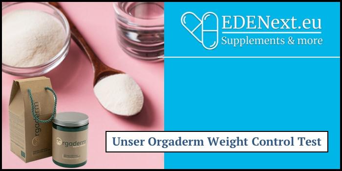 orgaderm weight control test