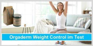 orgaderm weight control test frau waage glücklich