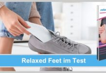 relaxed feet test wirkung