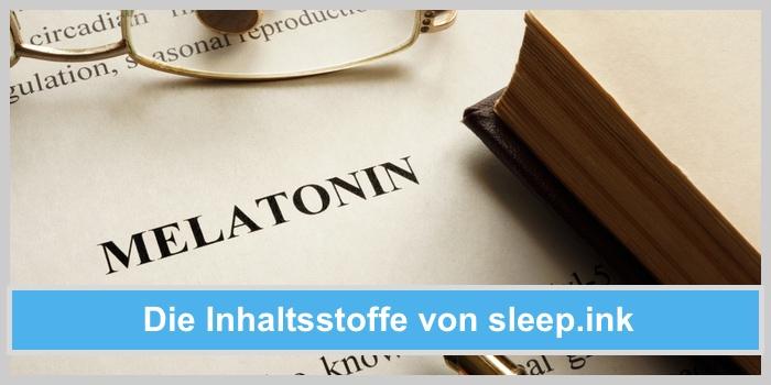sleep.ink sleep ink schlafdrink inhaltsstoffe wirkstoffe