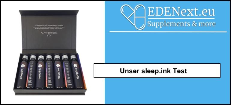 sleep.ink sleep ink selbsttest test