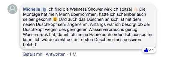 wellness shower erfahrung bewertung facebook
