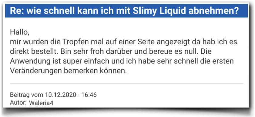 Slimy Liquid Bewertungen Erfahrungsberichte Slimyliquid