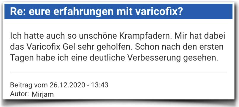 Varicofix Erfahrungsberichte Bewertungen Varicofix