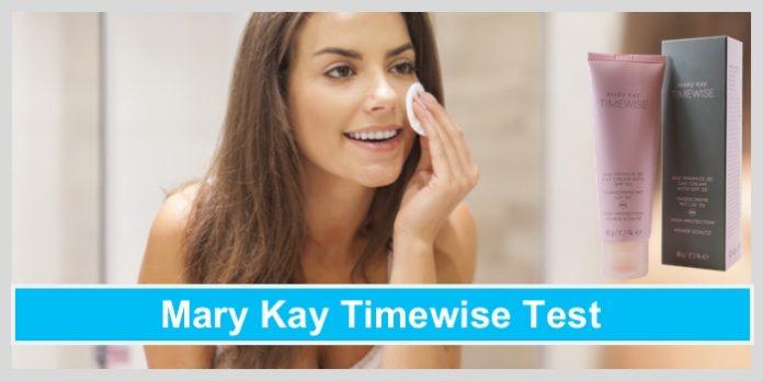 mary kay timewise daycream tagescreme 4-in-1 cleanser frau abschminken make-up entfernen