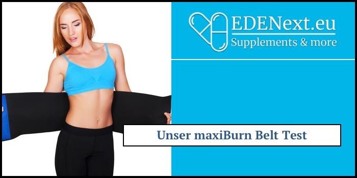 maxiburn belt selbsttest