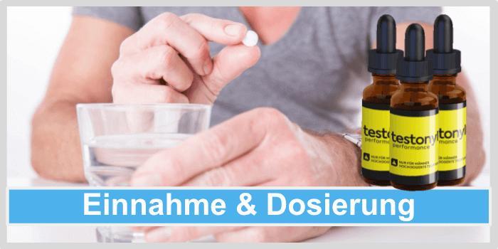 Testonyl Einnahme Dosierung Anwendung