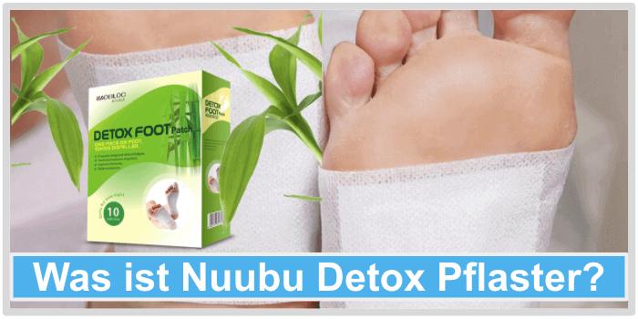 Was ist Nuubu Detox Pflaster